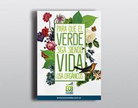 Verde = Vida // Póster ECOMAMBO