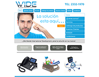 Diseño web www.wid-e.com