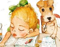 """""""Dog's Mikki diary"""" by Sasha Cherniy"""