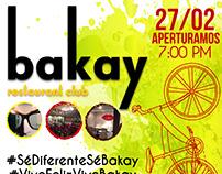 Poster Publicitario para Empresa (Bakay)