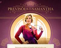 Previsões de Samantha TV Globo - Novela Alto Astral