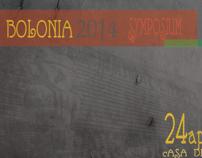 CARTEL BOLONIA 2014 SYMPOSIUM
