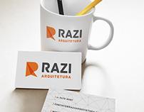 Identidade Visual Razi Arquitetura