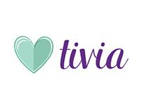 Website ~ Tivia Store ~ Web design