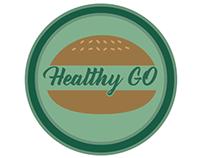 Creación logo empresa de comidas saludables