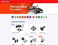 E-commerce Auto Bazar