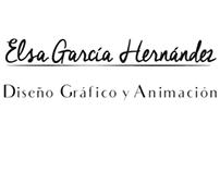 Personal Elsa García Diseño Gráfico Logo Reveal