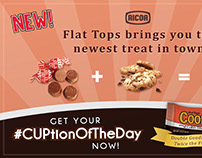 Ricoa Flat Tops Cookie Cups