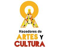 Identidad gráfica Hacedores de Artes y Cultura en Red