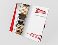 Brochure / Tríptico / Carpeta