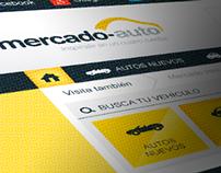 Diseño Web - Mercado Auto