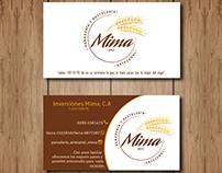 """Presentación del diseño """"Mima, panadería artesanal""""."""