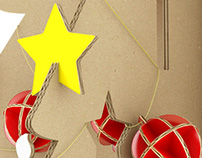 3D Christmas Cardboard