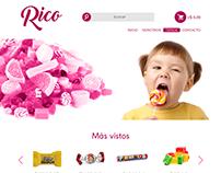 Rico Interfaz Tienda Online