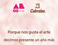 Material developed for Cabrales place in Arte Espacio