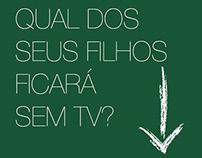 TV Alphaville - Campanha e Projeto Gráfico