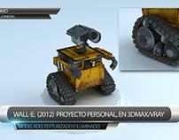 Personaje robótico 3D - Tributo a Wall-e - Articulado