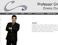 Professor Cristiano Sobral