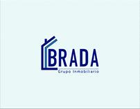 BRADA Grupo Inmobiliario - Creación de Logotipo, Diseño