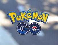 """Anúncio para """"Pokémon Go"""""""