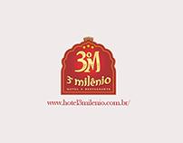 Site Institucional Hotel 3 Milenio 2 - Brumado Bahia