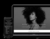 Alicia Keys: Blended Family  brazilian campaign