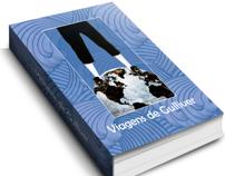 Redesign Livro As Viagens de Gulliver