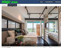 Site WordPress com design enviado pelo cliente.