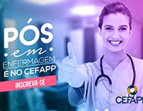Publicações facebook CEFAPP