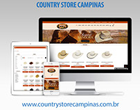 Loja Virual - Country Store Campinas