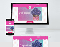 Diseño web The Cakes Place