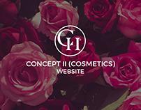 Website. Concept II (Cosmetics)