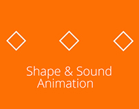 Shape & sound animation