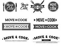 Move & Cook- Logos