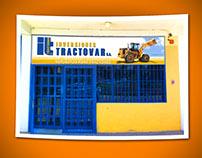 Inversiones Tractovar: front ad, billboard (2013)