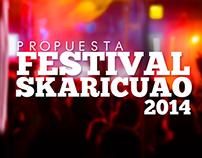 Logo Festival Skaricuao 2014 Propuesta