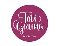 *Toti Gauna* Pastry Cook / Identidad + Flyers