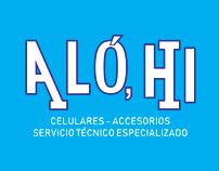 Logotipo Alo, HI
