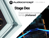 Advertising for Audio Concept Colombia