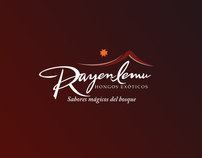 "Diseño de Etiquetas ""Rayen Lemu"" Productos Gourmet"