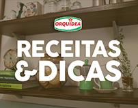 Série Receitas & Dicas Orquídea
