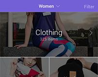 Mobile App Store Design