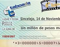 Cheque de Regalo Taboada