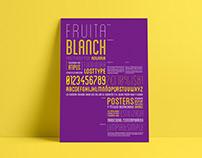 Fruita Blanch - Espécimen tipográfico