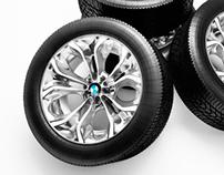 Tire & rim X6 BMW