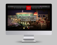 Soho Square website design