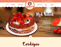 Layout Website Bela Doida por Doces