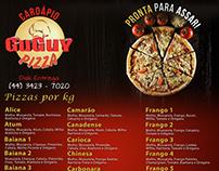 Cardápios para Pizzaria