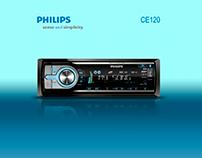 Calcado de equipo de sonido PHHILIPS