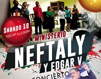 Flyer Ministerio Neftaly